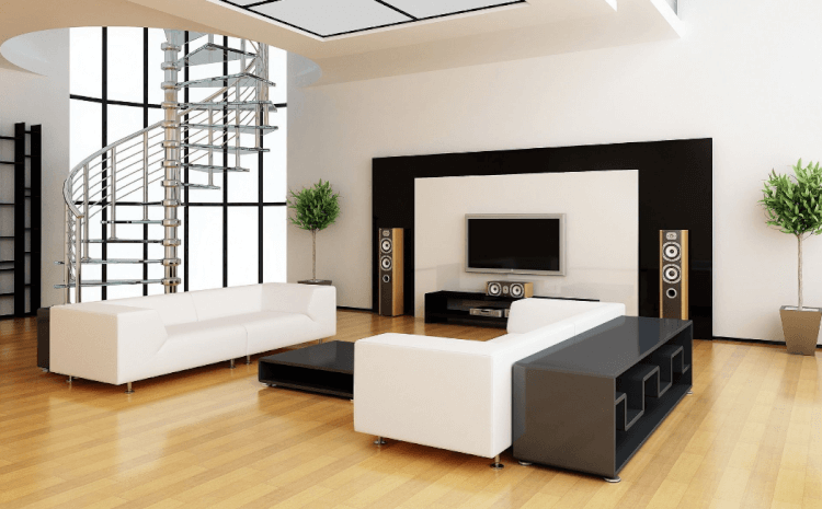 Black and White tv wall mount ideas