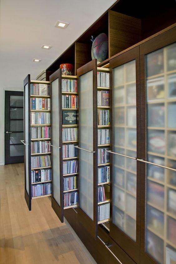Dvd Storage Ideas E Cabinet
