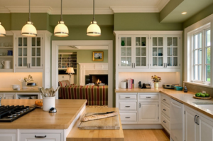 kitchen color brown cabinets