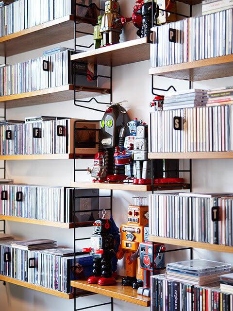 Creative CD DVD Storage Ideas