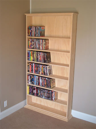 creative cd dvd storage ideas for perfect decor. Black Bedroom Furniture Sets. Home Design Ideas
