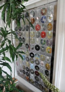 DVD curtains