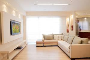 living room tv wall