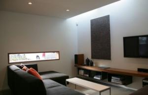 rectangular window for living room