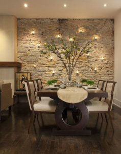 Accent Wall for Dining Room