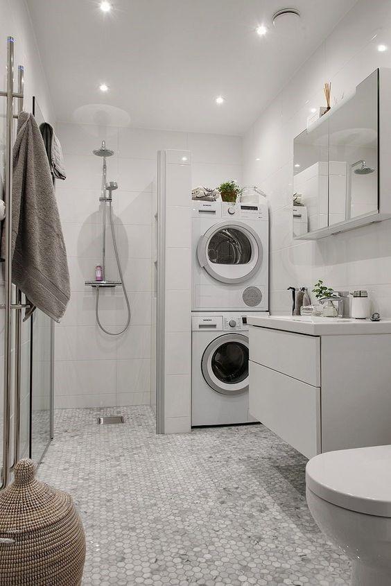Basement Laundry Room Ideas - Filling the Corner