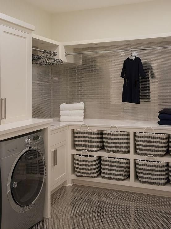 16 Clever Way To Reinvent Your Basement Into A Neat Laundry Room