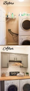Basement Laundry Room Ideas Before and After