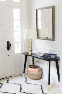 modern entry table decorating ideas