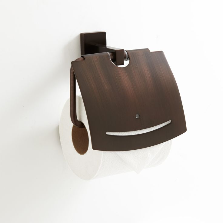 Modern Wooden Toilet Paper Holder