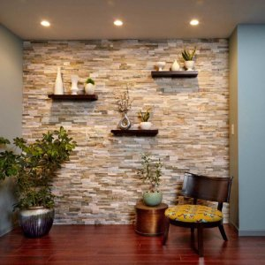 Stunning Stone Accent Wall