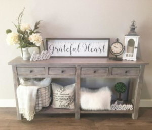 thanksgiving entry table ideas