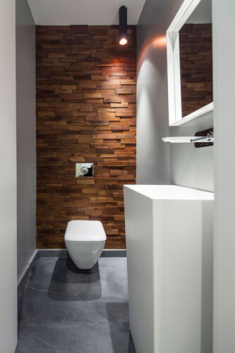 Accent Wall Ideas for Bathroom