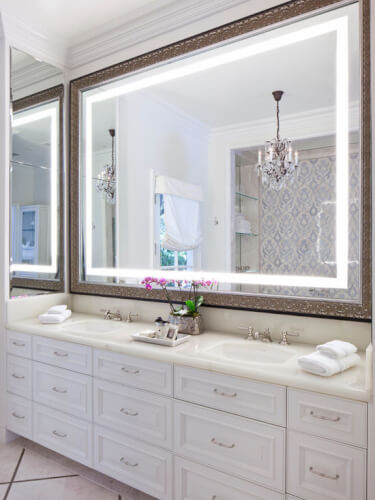 Simple Bathroom Mirror Ideas