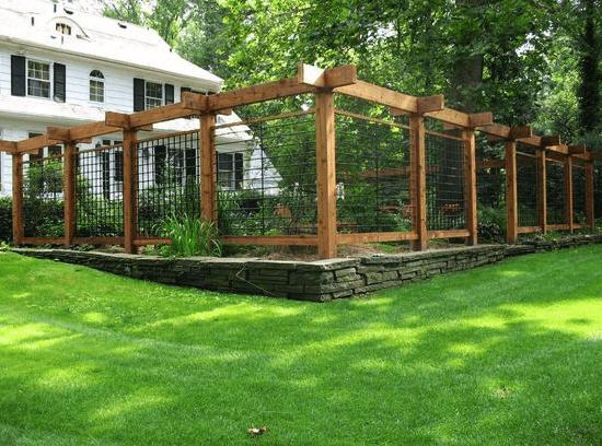 27 awesome garden fence ideas do it yourself ideas Garden fence ideas