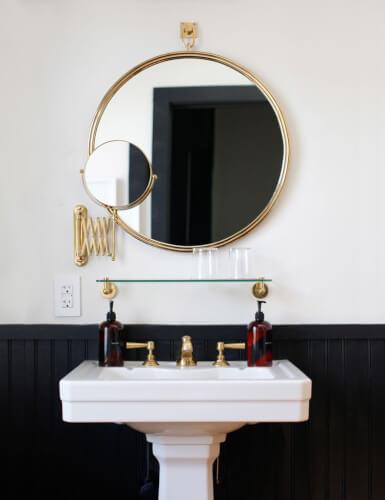 Round Bathroom Mirror Ideas