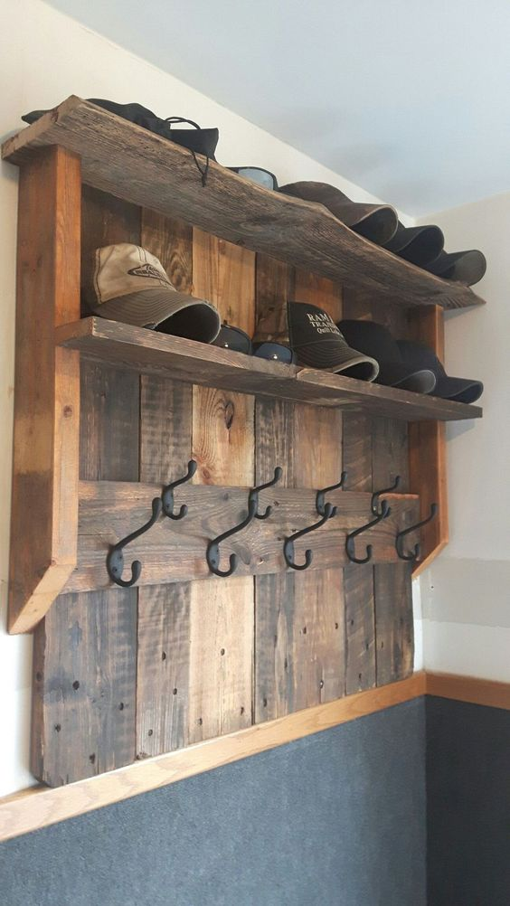 Cool And Creative Hat Rack Ideas For Sweet Home