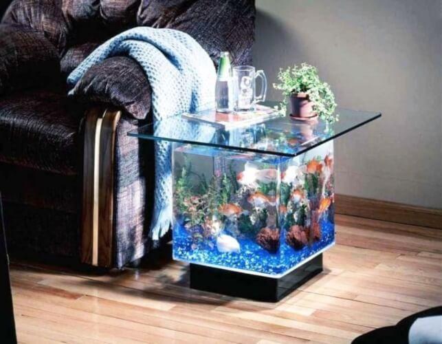Aquarium furniture with Coffee Table Ideas