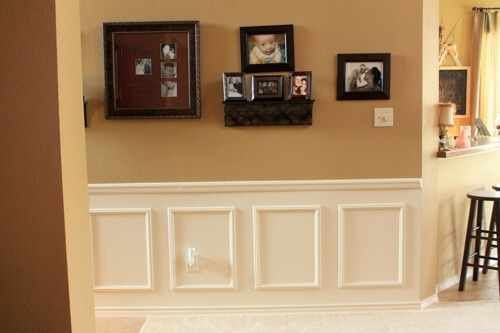 Picture Frame Wainscoting Ideas