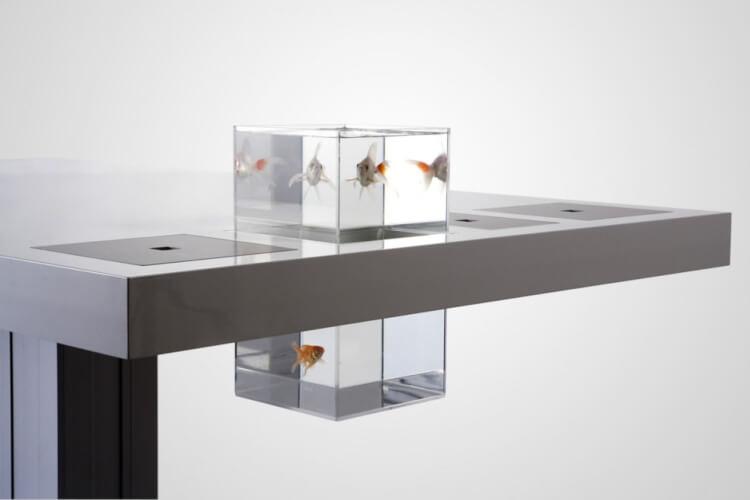 aquarium furniture for desk ideas