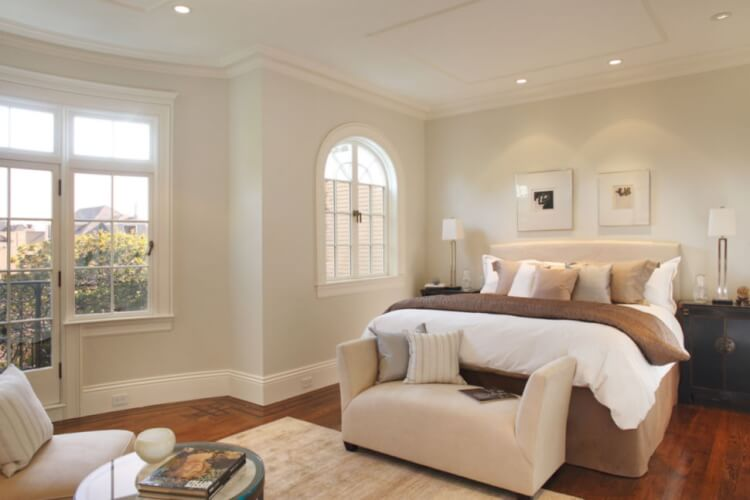 bedroom baseboard ideas