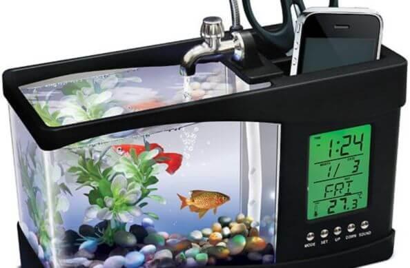 powered aquarium furniture