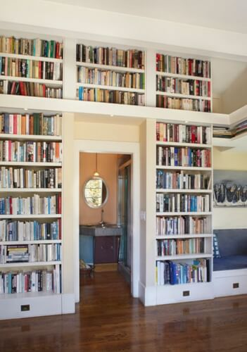 Home library Above The Door