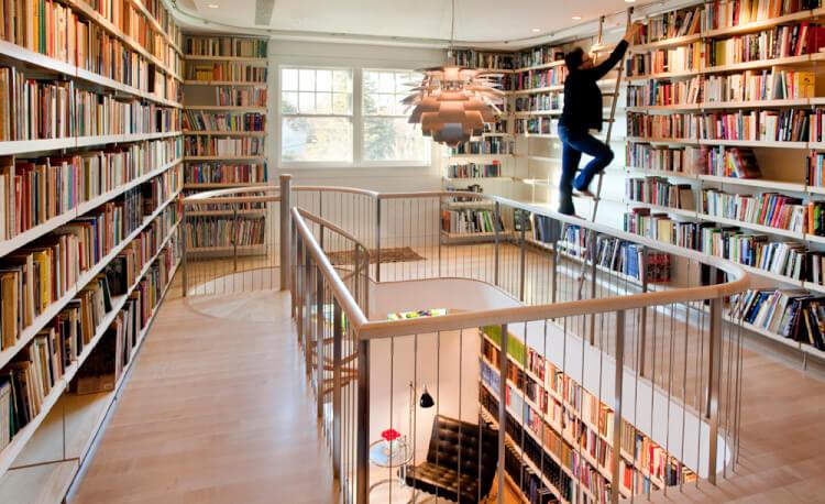 Brilliant home library design ideas