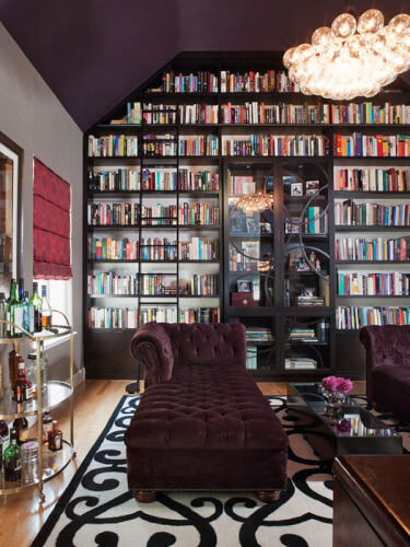 Elegance Home Library