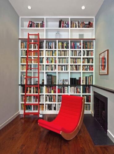 Shelves Home library ideas