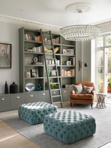 Unique Home Library Ideas