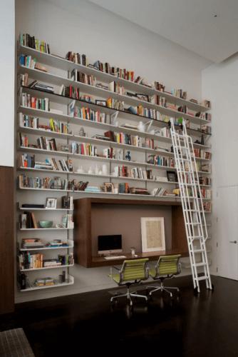 Multi Home Library Ideas