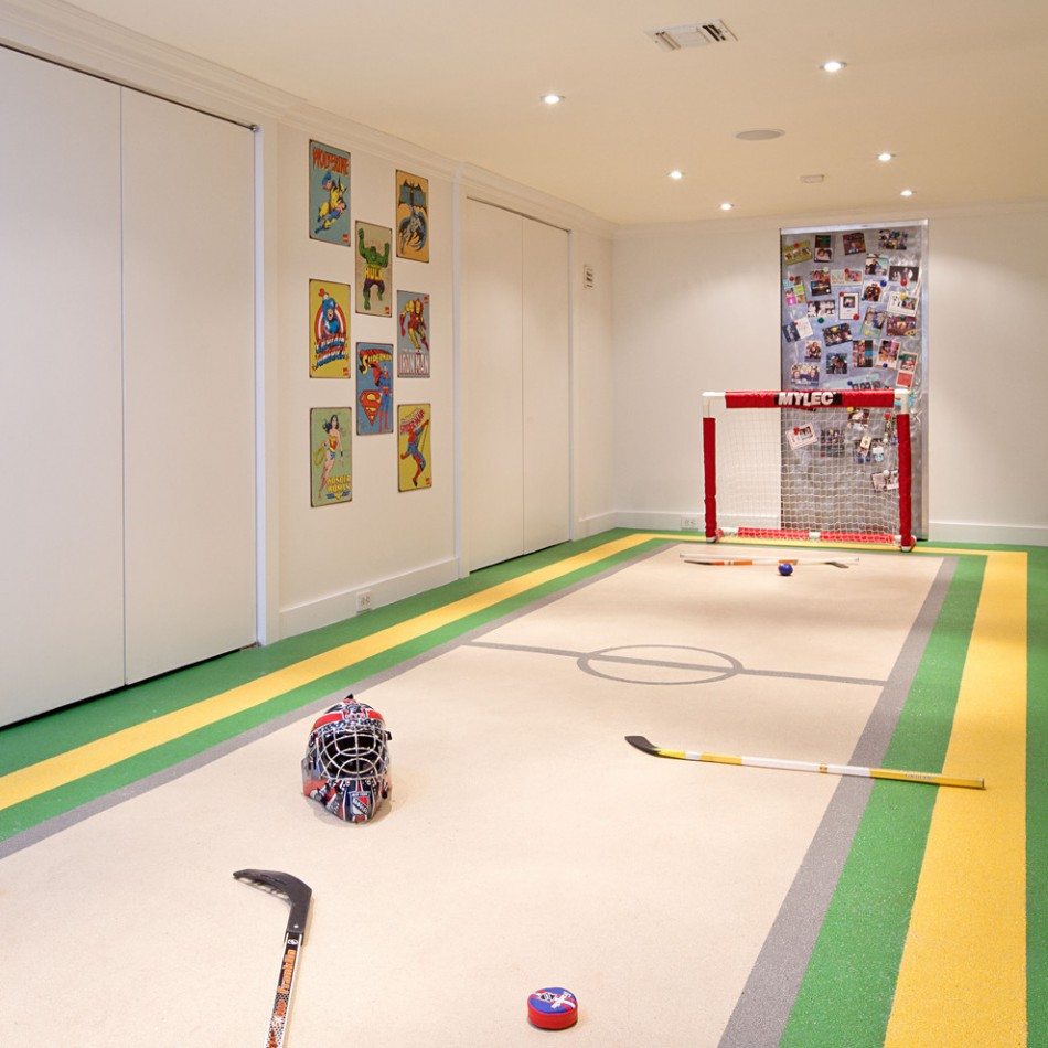 Basement Ideas for Playroom