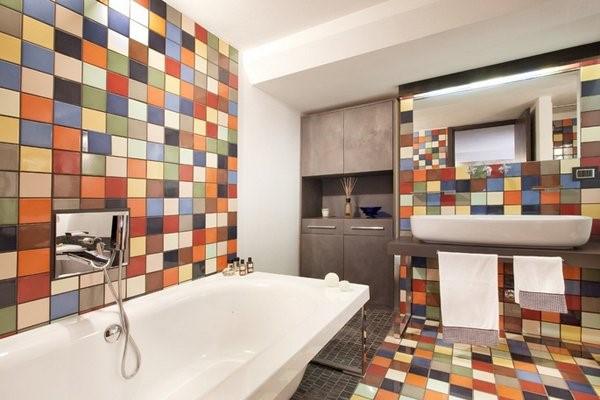 Basement Bathroom Ideas - Make It Colorful Like Italian Bathroom