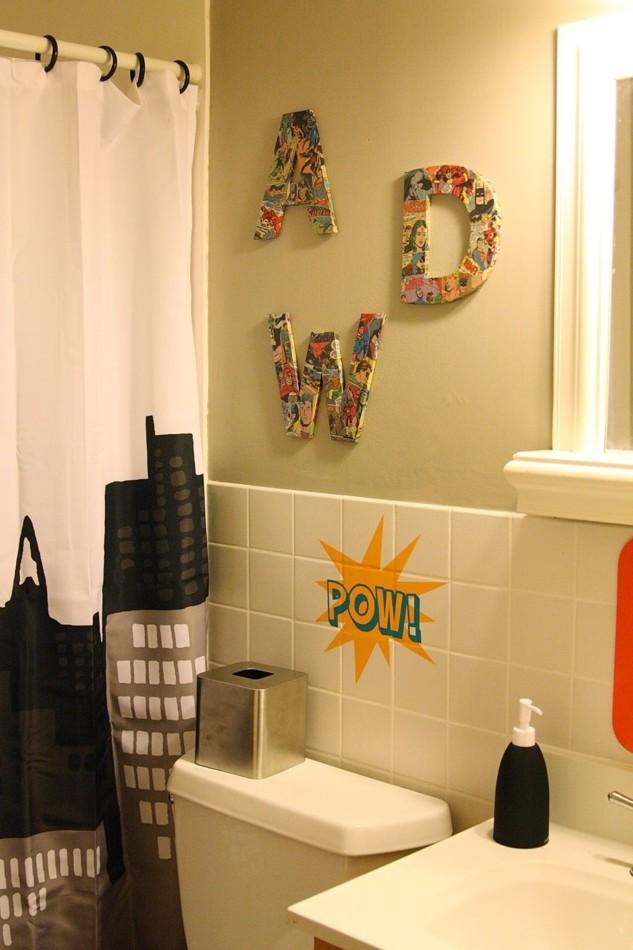Basement Bathroom Ideas - Make It Thematic, Like Batman Theme!