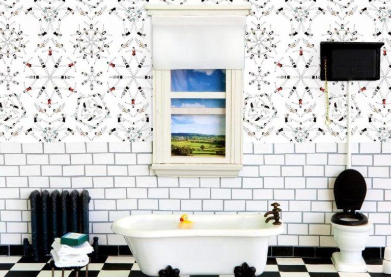 Basement Bathroom Ideas - Fun Wallpaper Decoration